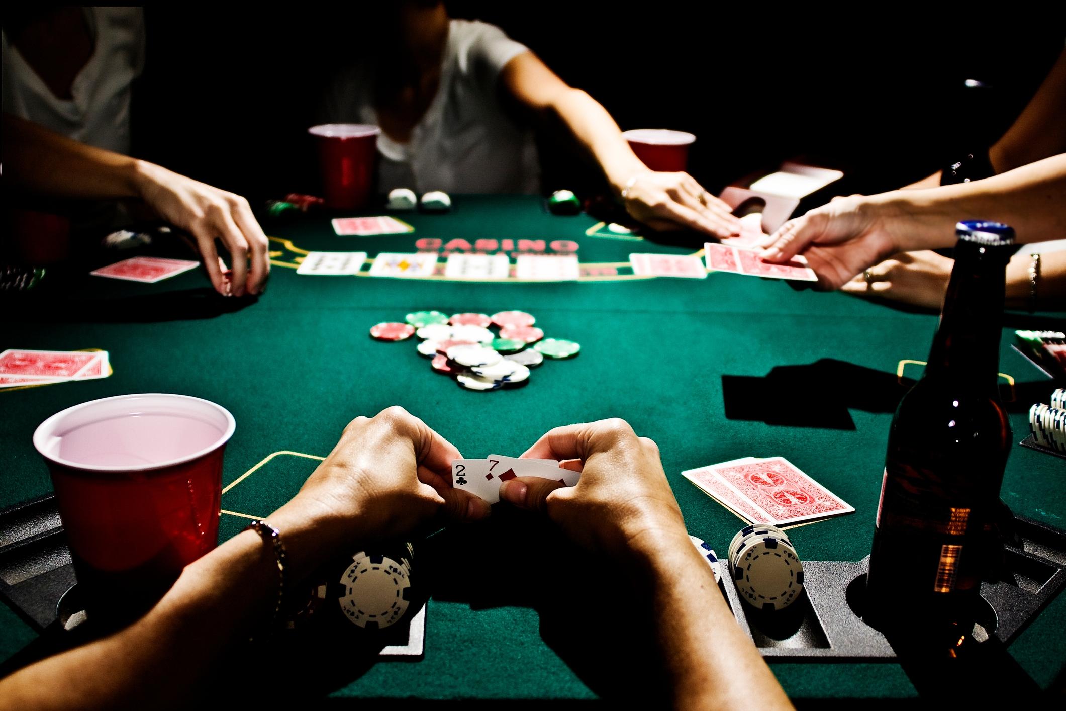Blackjack table types